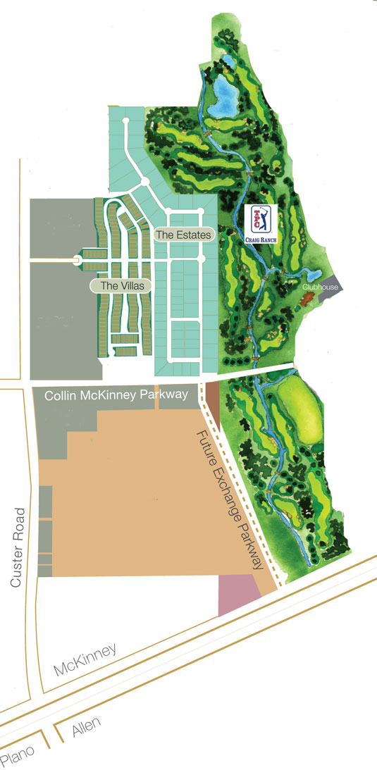 Craig Ranch Villas Site Plan